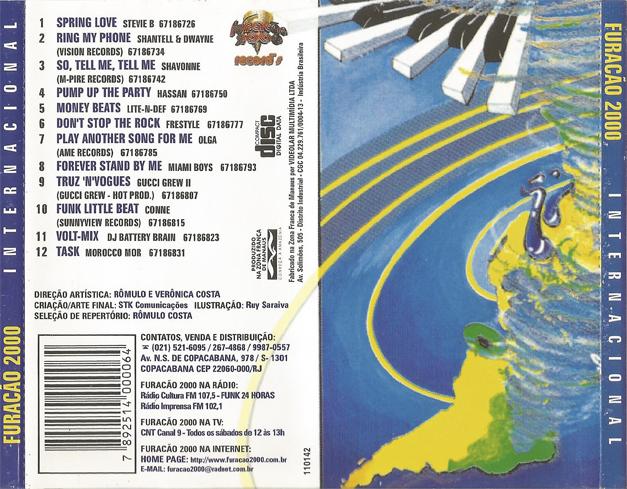 cd da furacao 2000 internacional