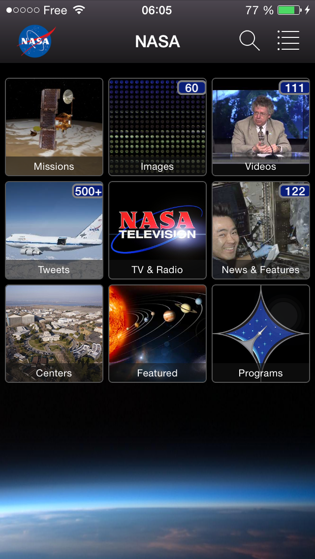 picture screen shot app nasa application review