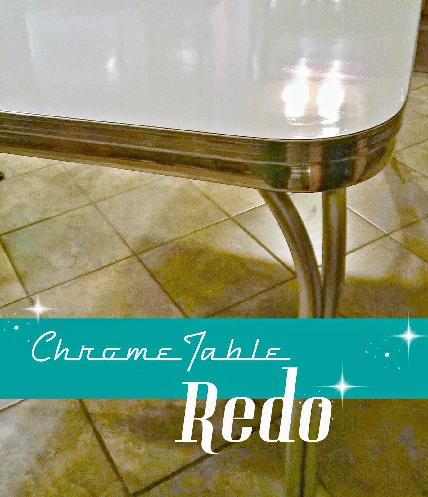 retro chrome table redo redo kitchen table Retro Chrome Table Redo