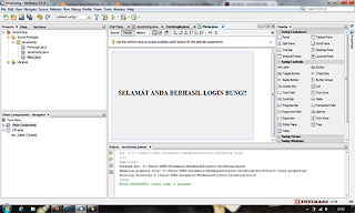 java, netbeans, java swing, form login