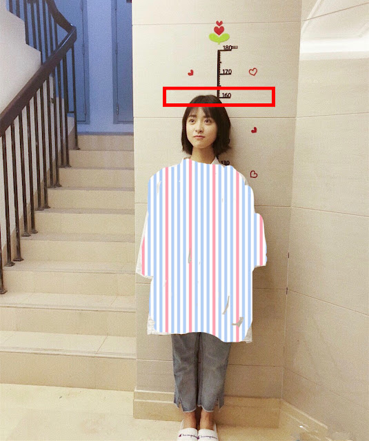 Shen Yue height 160cm
