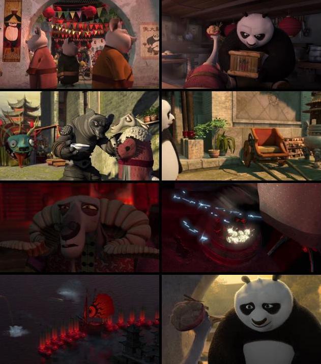 Kung Fu Panda 2 (2011) Dual Audio BluRay 480p 300MB