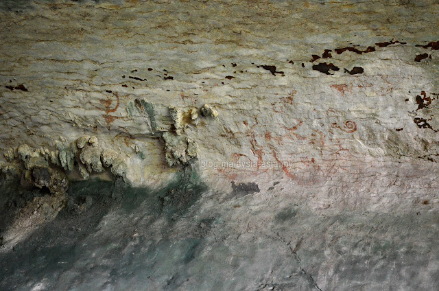 Niah Cave Painting Photo