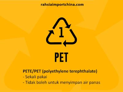 Tips Penggunaan Bekas Plastik