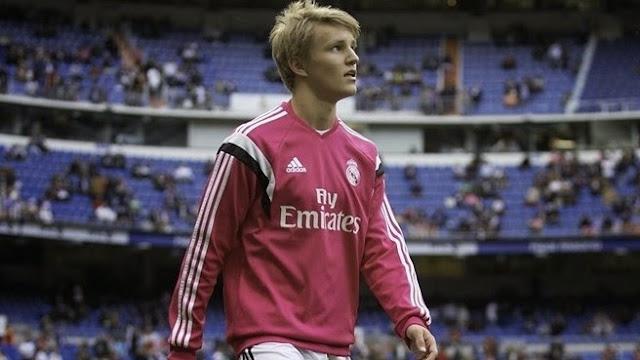 Odegaard Pemain Termuda Real Madrid di Ajang La Liga