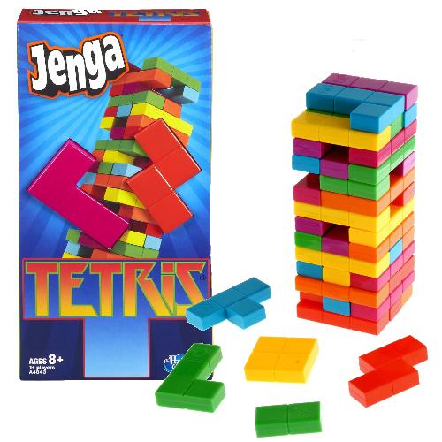 The Playful Otter: JENGA Tetris