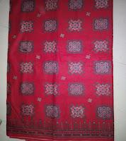 Kain Batik Prima 2040 Merah