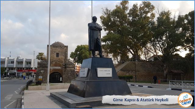 Girne-Kapisi-Ataturk-Heykeli