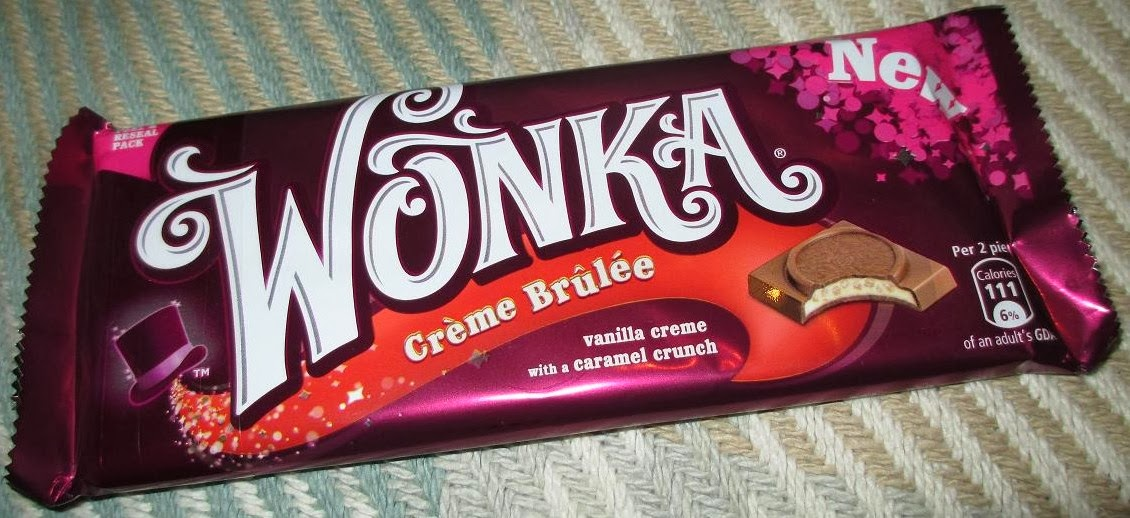 Foodstuff Finds Wonka Crème Bruelee Tesco By At Cinabar