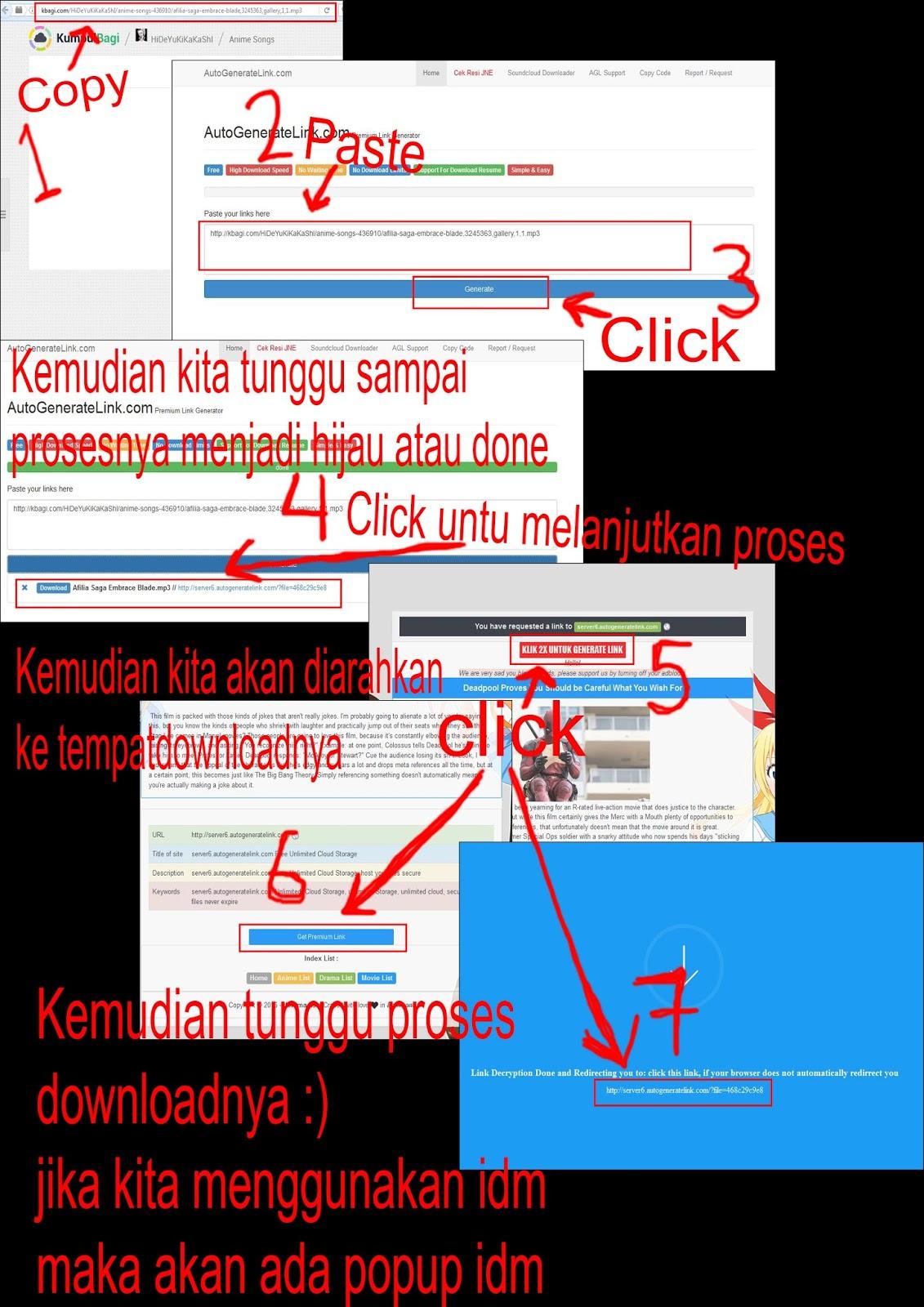 Cara Download File Di Kumpulbagi Atau Di Situs Yang