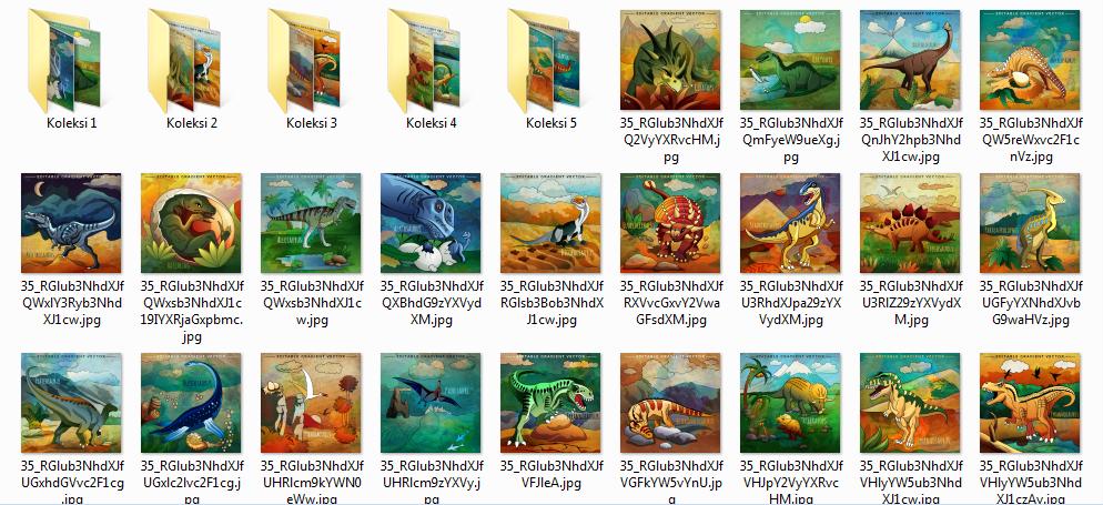 Folder Gambar Dinosaurus