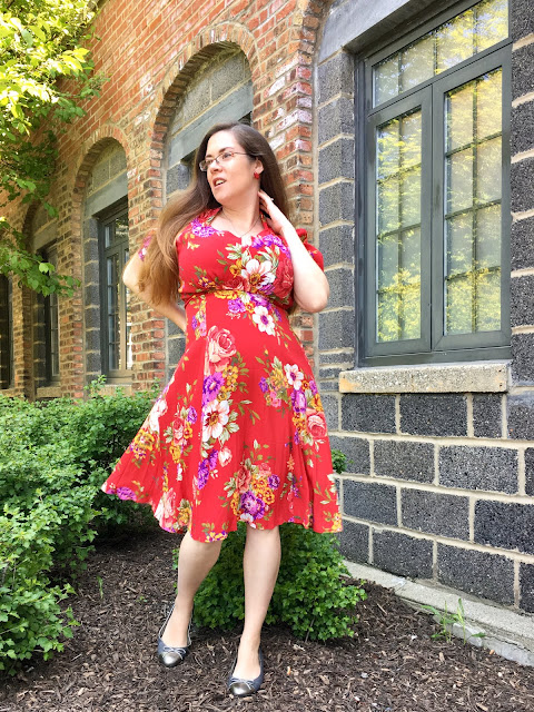 House of Foxy Tea Dress review