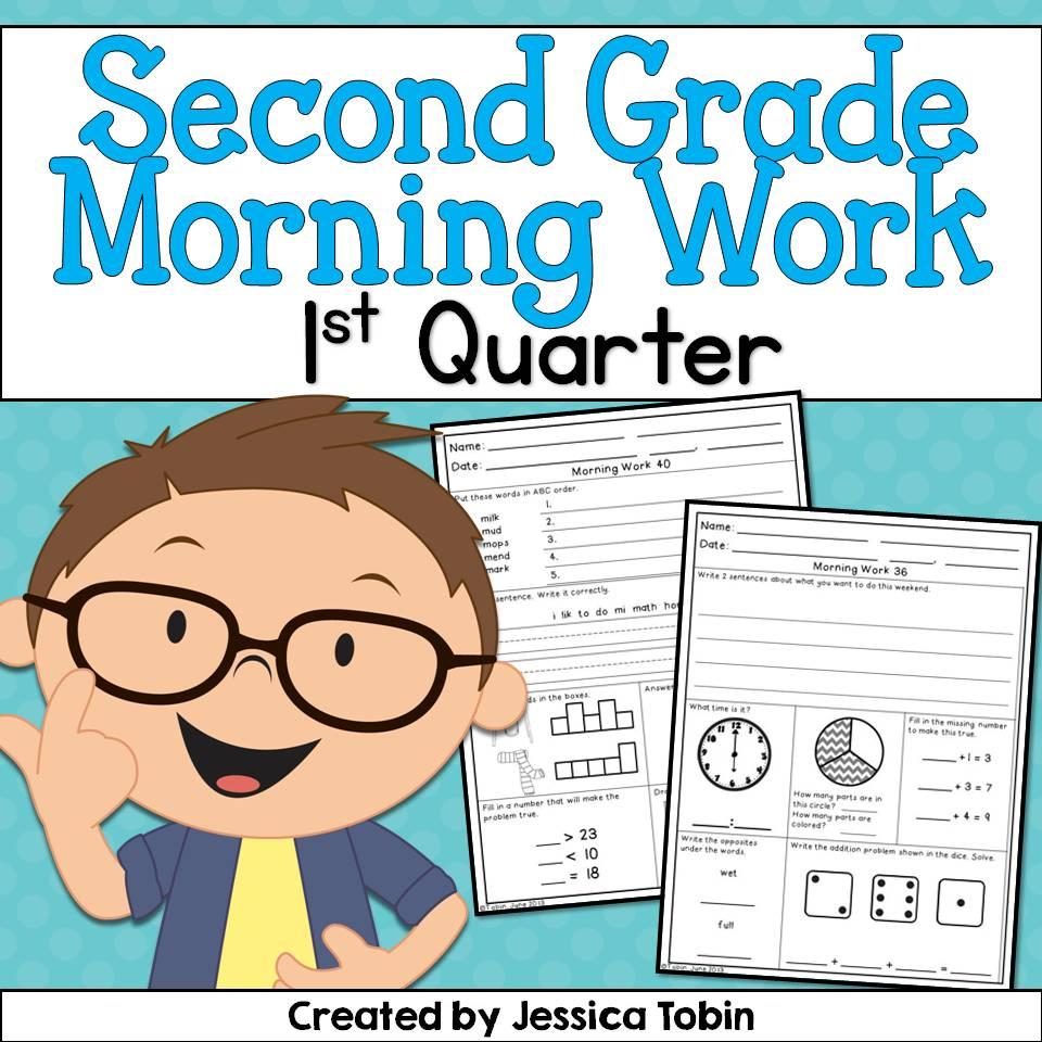 Second Grade Nest: 2nd Grade Morning Work!