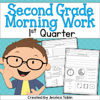2nd Grade Morning Work- free samples available