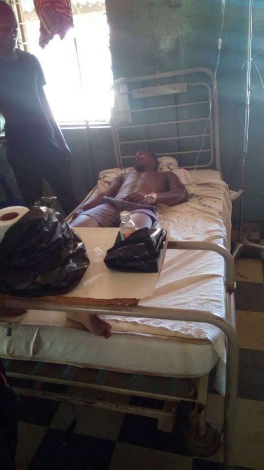 Photos: Policemen beats man to coma in Yola, Adamawa State
