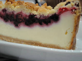 Sobremesa? Sim, cheesecake sem açúcar...