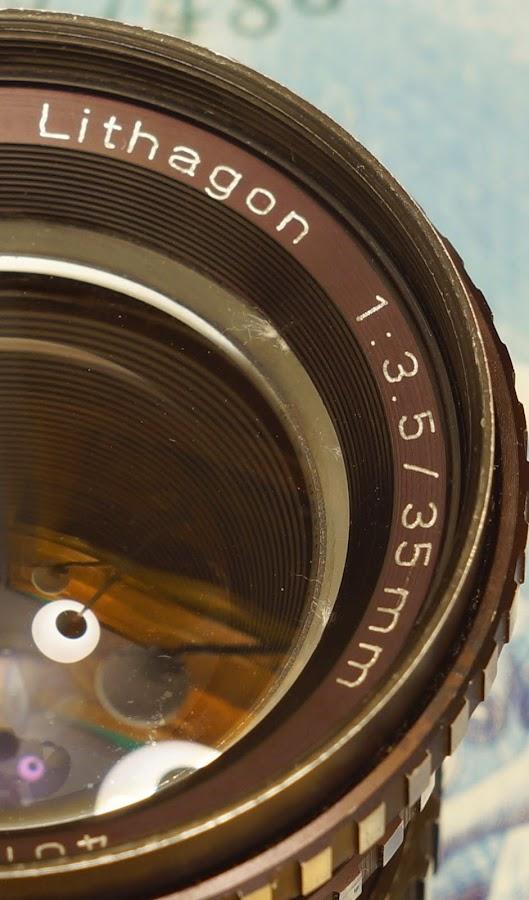 Enna München Lithagon 35mm f/3.5 M42