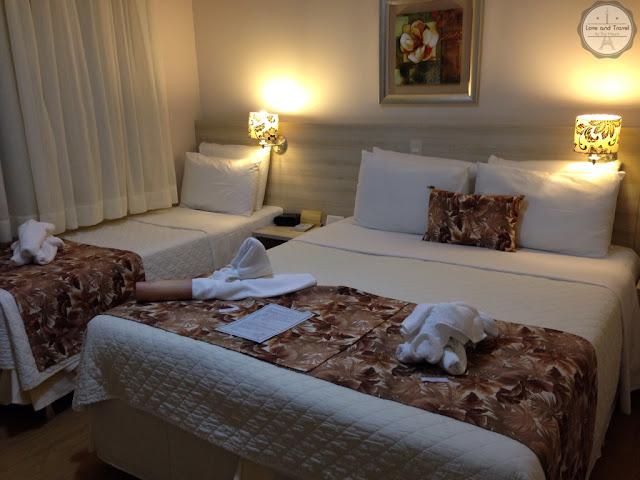 Best Western Tarobá Hotel Foz do Iguaçu apto triplo