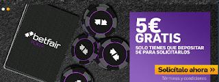 betfair poker 5 euros gratis