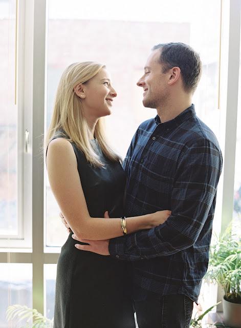 Engagement Portrait, Lucy and Alex