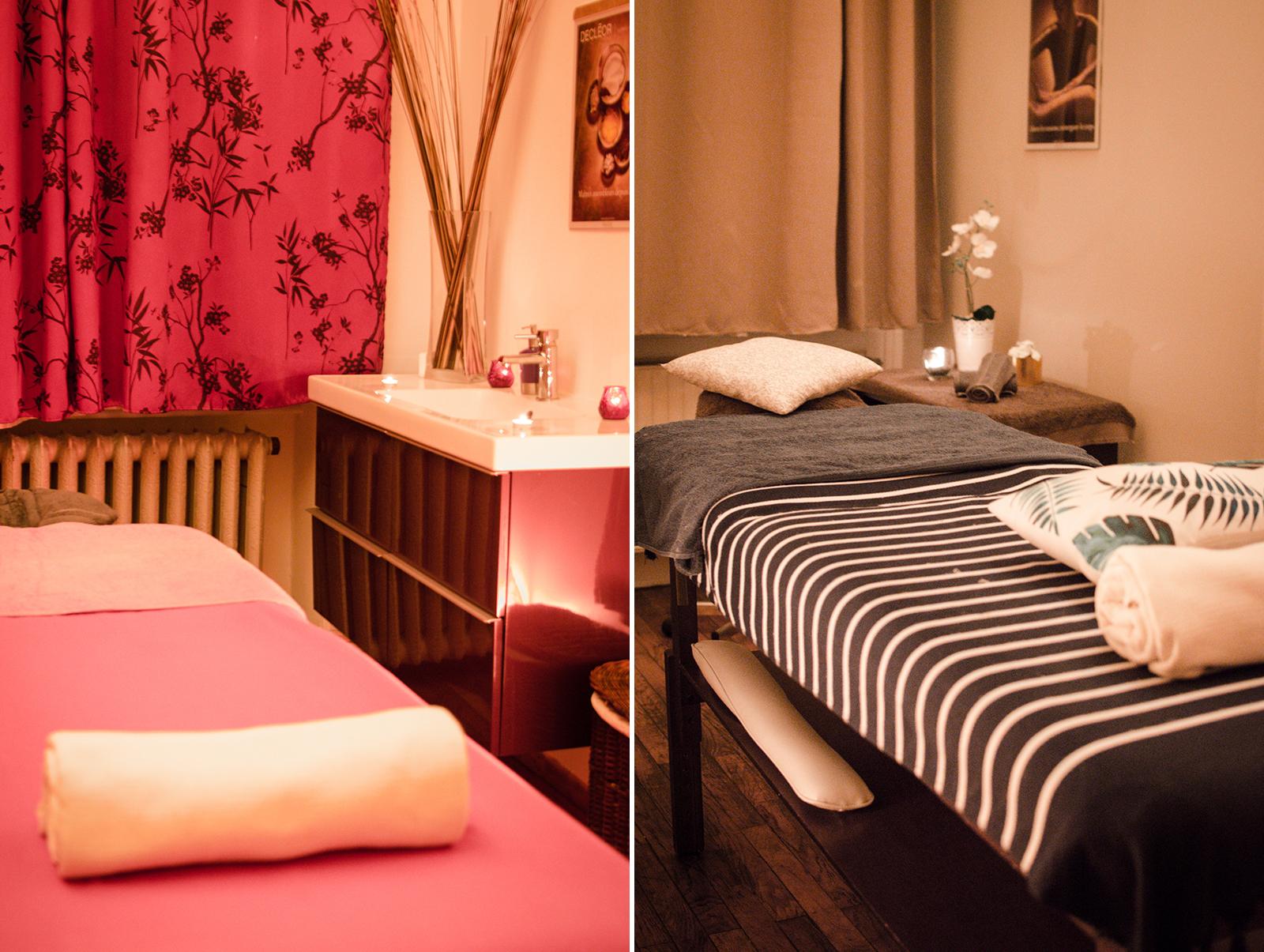 Massage aux bains de l'opéra Spa Lyon