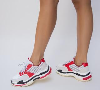 Pantofi Sport Siago Rosii
