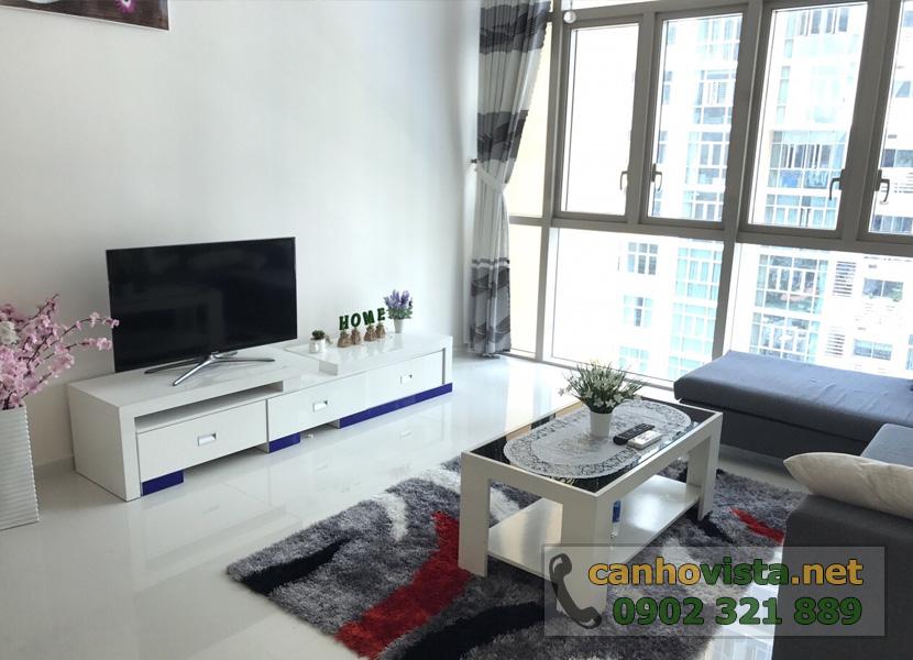 giá bán căn hộ the vista quận 2 - phòng khách