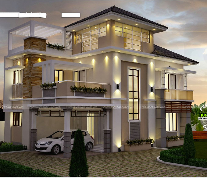 Home Designers: 2 STOREY MODERN HOUSE DESIGNS IN THE PHILIPPINES