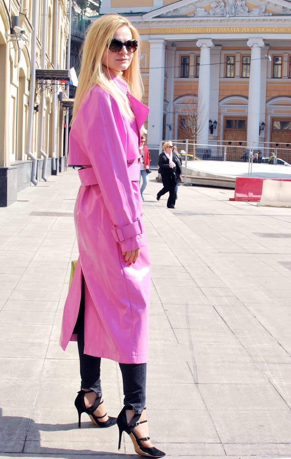 как носить яркий неоновый цвет