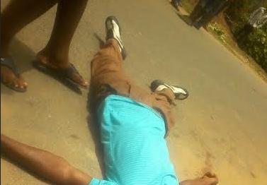 PDP Ward Agent Shot Dead By Unknown Gunmen (Graphic Photo)