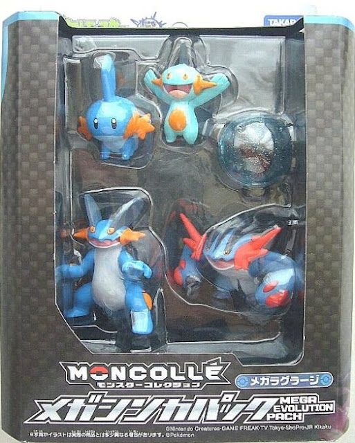 Pokemon Takara Tomy Monster Collection MONCOLLE Mega Swampert Evolution pack