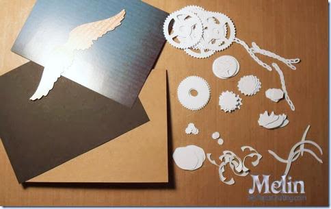 Steampunk Masculine Valentine SVG Cut File Card Melinda Beltran
