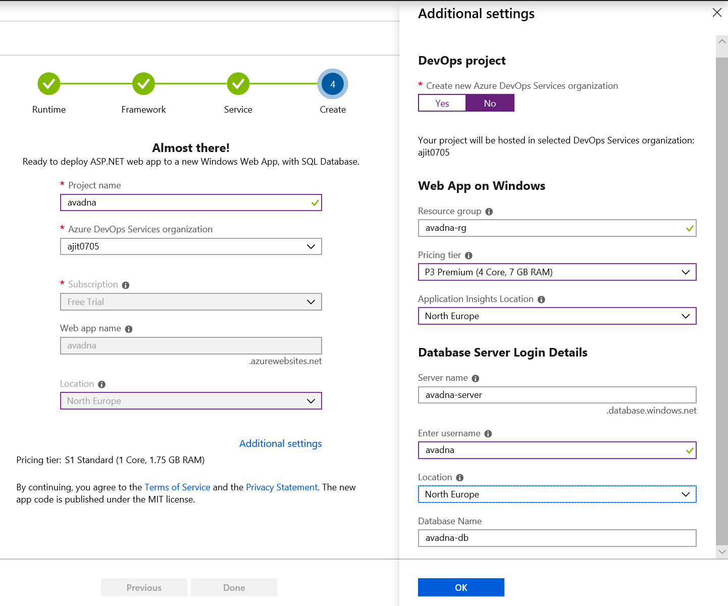 Azure DevOps and Sample Windows Web App - Finance and Operations