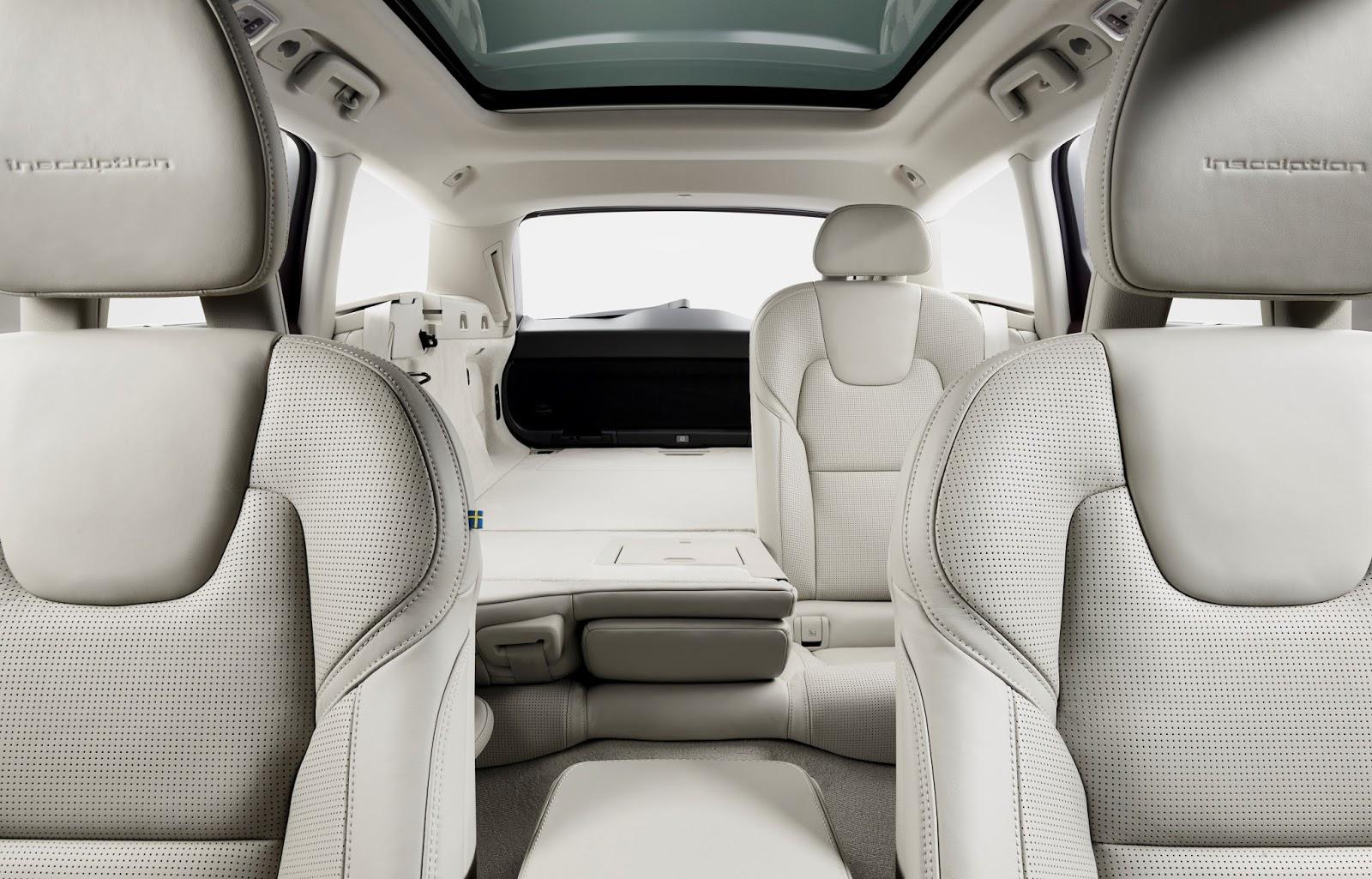 173842 Volvo V90 Studio Folding Rear seats Το V90 είναι το πιο όμορφο, το πιο ασφαλές station wagon και το πιο... Volvo Station Wagon, Volvo, Volvo V90
