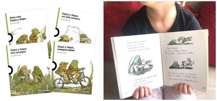 cuentos libros infantiles en letra ligada colección sapo y sepa, arnold lobel