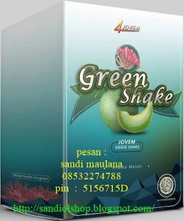 Green shake minuman kesehatan untuk diet sehat