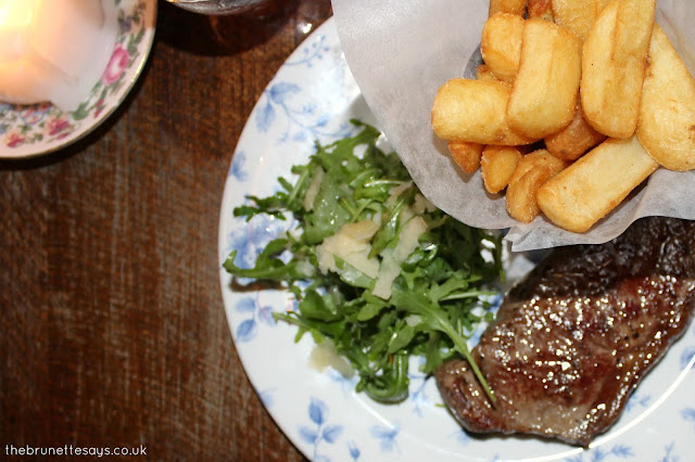 sirloin steak, cosy club, review