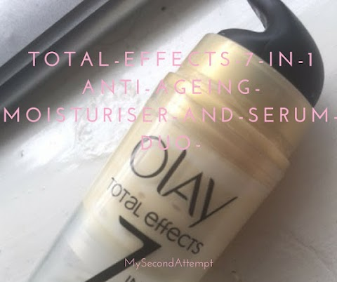Olay Total Effect 7 in 1 Moisturiser And Serum Review