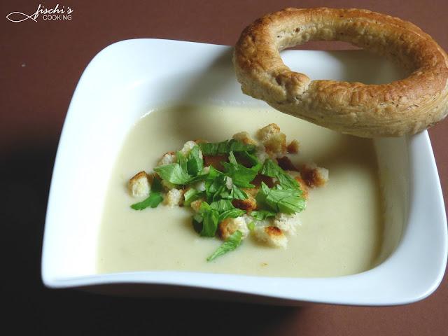 fischiscooking, schwarze rettich suppe