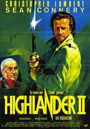 Highlander 2 - A Ressurreição Filmes Torrent Download capa