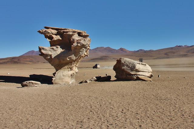 Deserto de Siloli no Antiplano Andino da Bolívia