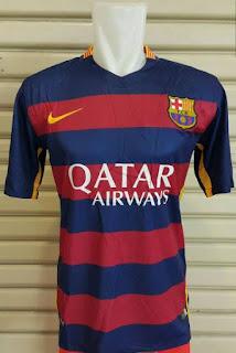 gambar bola Jersey Official Barcelona home musim 2015/2016 enkosa sport