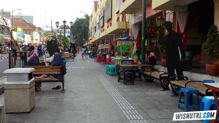 Jalan Malioboro Jogjakarta
