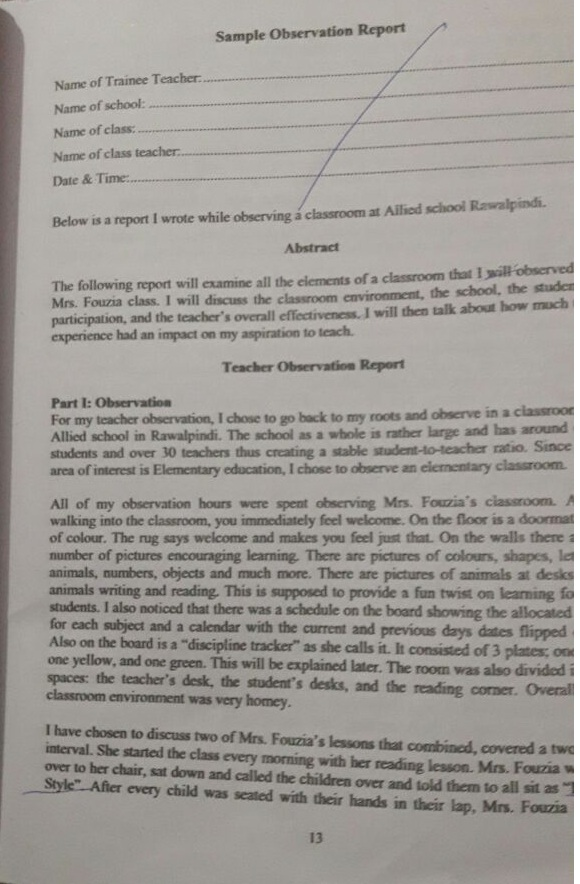 KINETIC POWER : Manual Teaching Practice-I (AIOU)