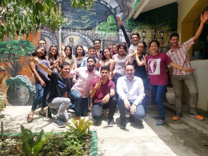 Curso de Liderazgo para participantes del Certamen de Literatura de Nueva Acrópolis Santa Ana, El Salvador