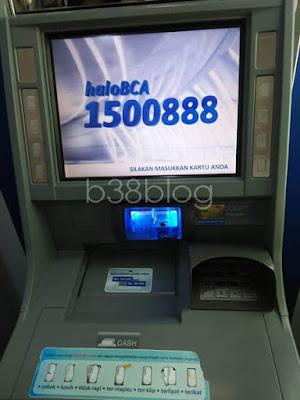 Setor Tunai di Mesin ATM BCA
