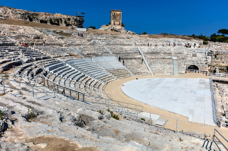 Greek theatre of Syracuse, Sicily