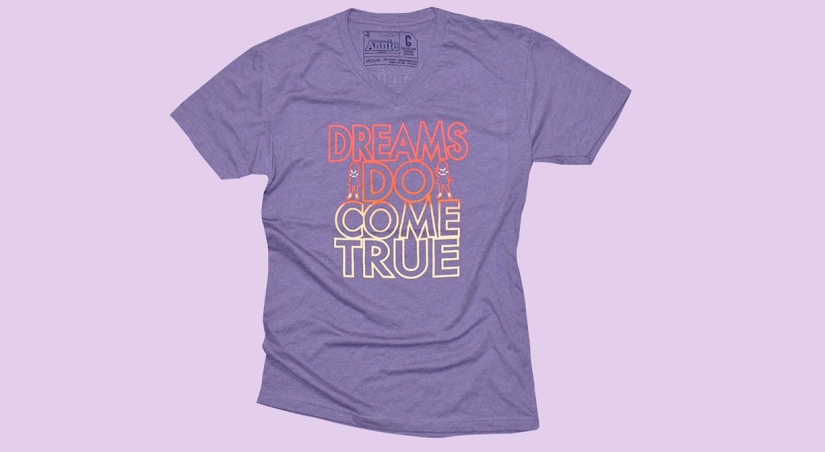 Picture of the Dreams Do Come True tee shirt