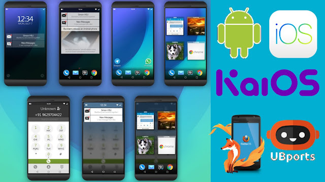 Top 10 Mobile Phones Operating Systems 2018