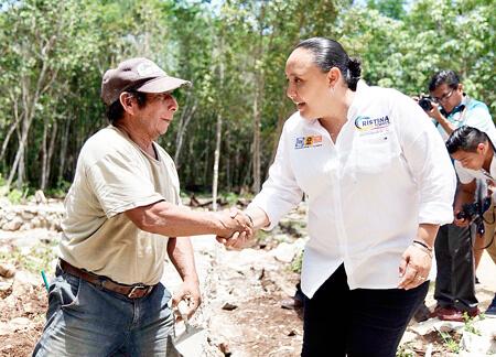 Total apoyo para impulsar al campo de Solidaridad: Cristina Torres